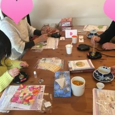 3/24 手作り化粧品教室 in カフェアジュール(磐田市)